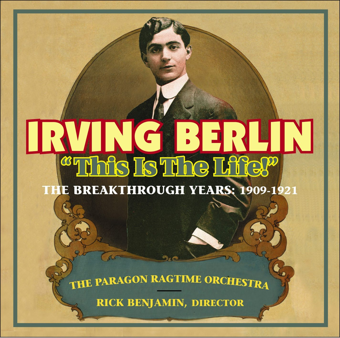 PRO - Irving Berlin CD cover