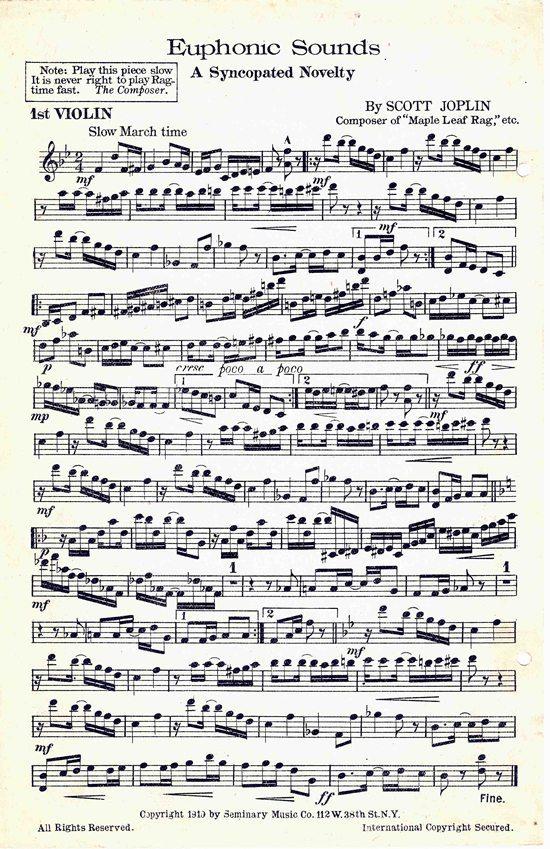 Scott Joplin's Music: Historic American Sheet Music At Alzheimers-prions.com