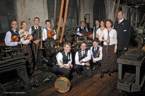 The Paragon Ragtime Orchestra, official 2014 portrait.