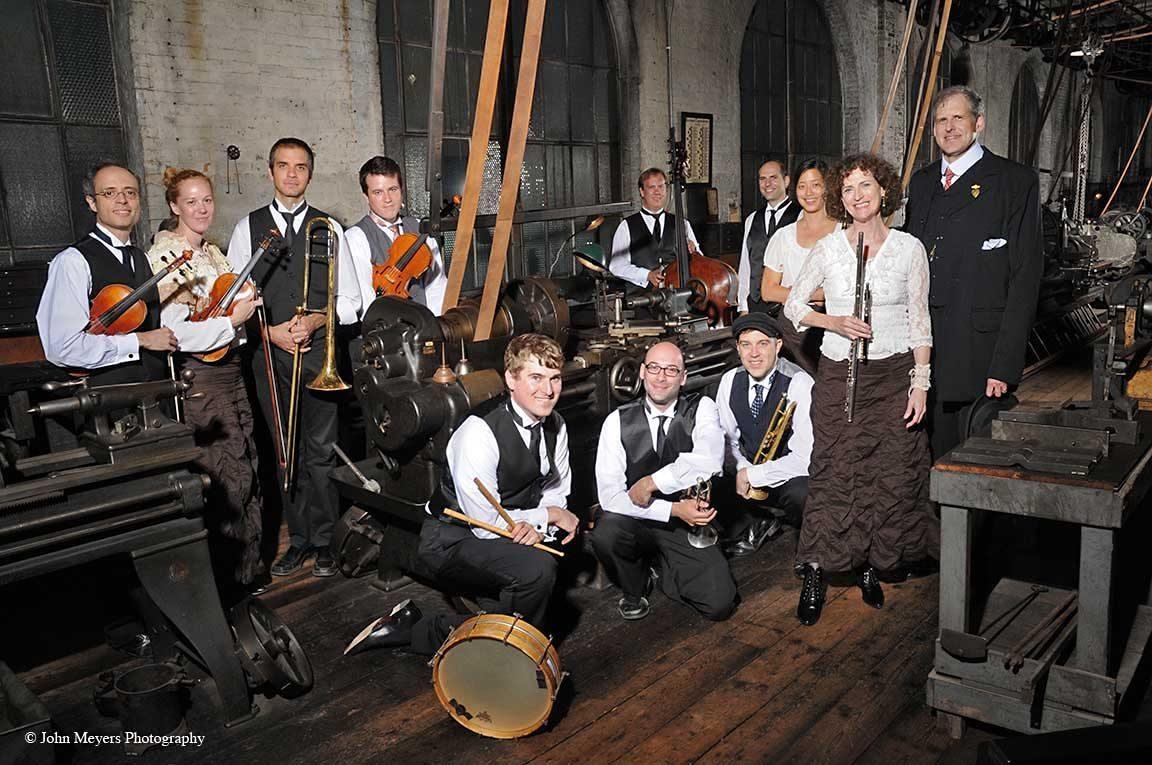 The Paragon Ragtime Orchestra, 2014 portrait