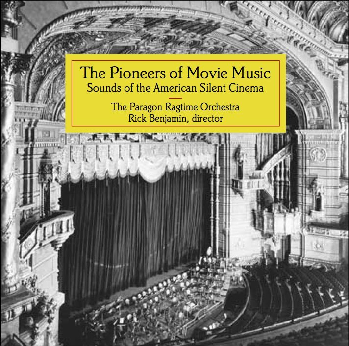Pioneers of Movie Music CD cover
