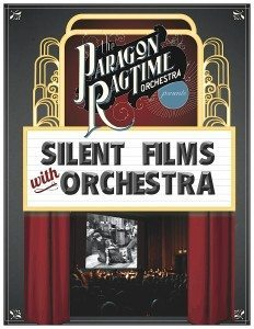 PRO - Silent Films Program flyer (front)