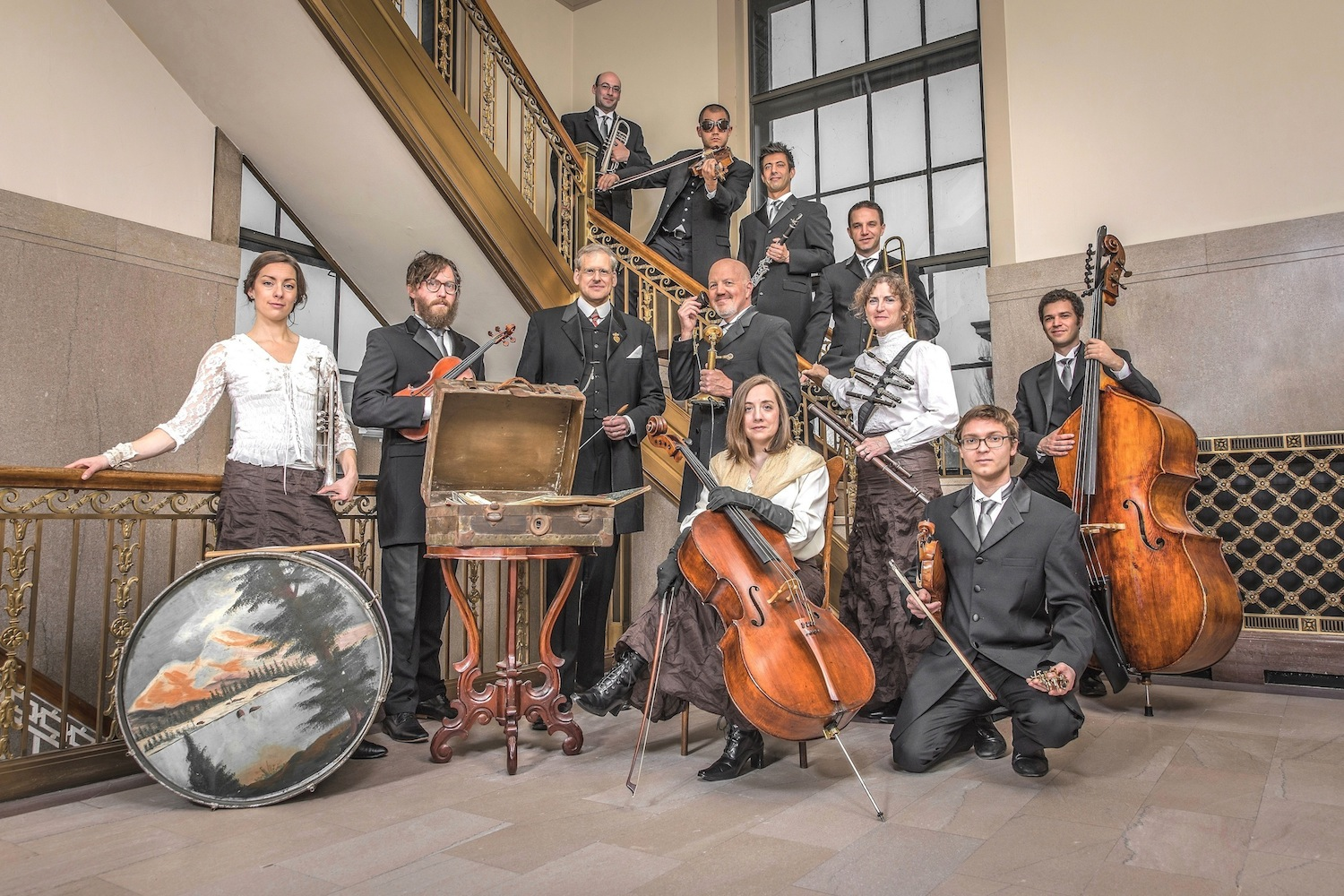 The Paragon Ragtime Orchestra, 2018 portrait
